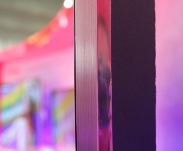 Changhong Curved 4K UHD TV Verarbeitung