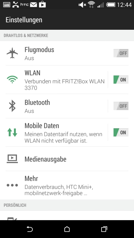 HTC Desire 816 Screenshot 3