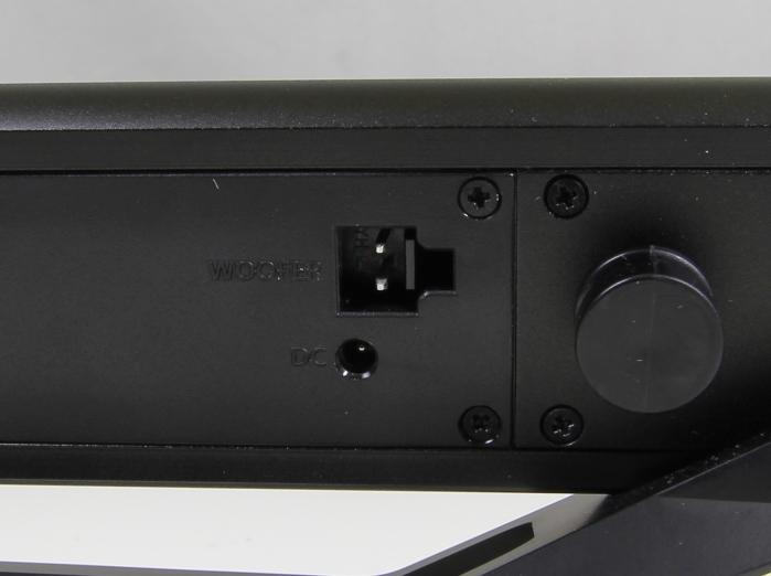 Humax Blade STA1200 BSW Soundbar Anschluesse Rueckseite1