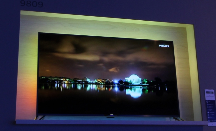 Philips 9809 Front Seitlich Ambilight