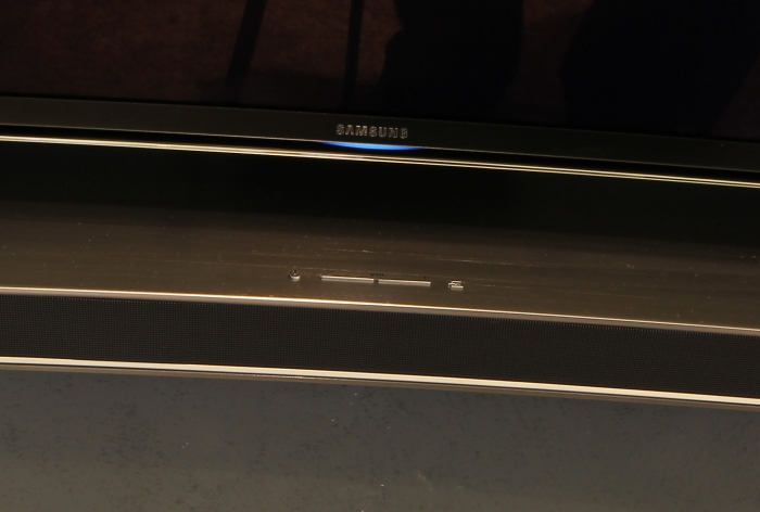 Samsung Curved Soundbar Bedienelemente