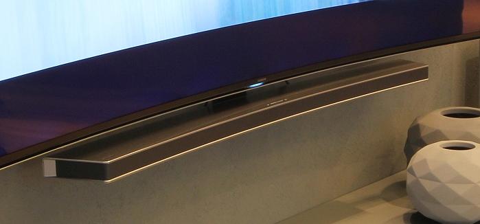 Samsung Curved Soundbar Front Seitlich1