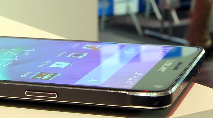 Samsung Galaxy Note 4 Bedienelemente Seitlich2