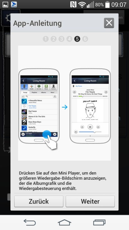 Samsung Multiroom Android Screenshots App Anleitung 5