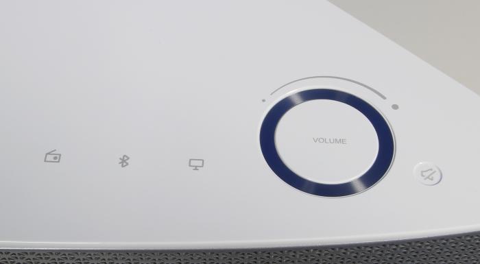 Samsung Multiroom M7 WAM751 Bedienelemente Oberseite
