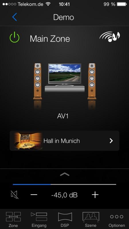Yamaha AV APP NAVI 4