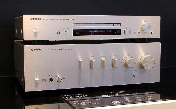 Yamaha CD-N301 A-S301 Gruppenbild