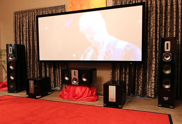Home Cinema Trends 2014 Quadral Titan Orkus Titan Base 2
