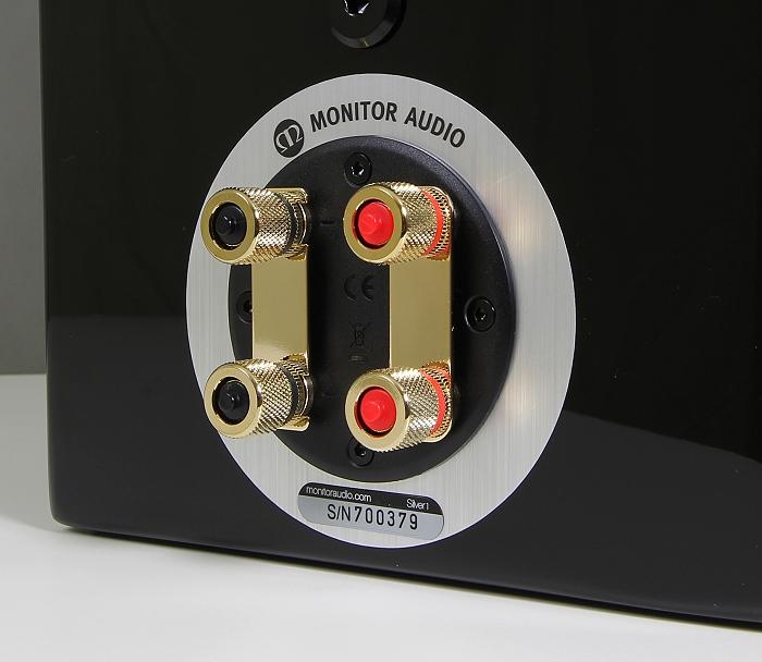 Monitor Audio Silver 1 Anschluesse Rueckseite