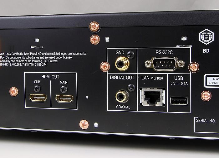 Pioneer BDP-LX58 Anschluesse Rueckseite1