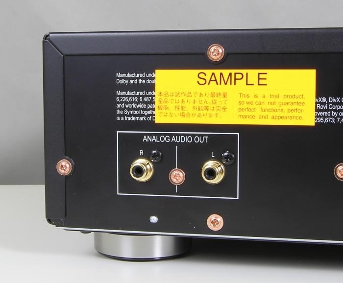 Pioneer BDP-LX58 Anschluesse Rueckseite2