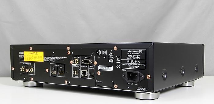 Pioneer BDP-LX58 Rueckseite Seitlich1