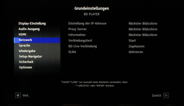 Pioneer BDP-LX58 Screenshot 8