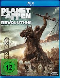 Planet der Affen - Revolution Blu-ray Disc