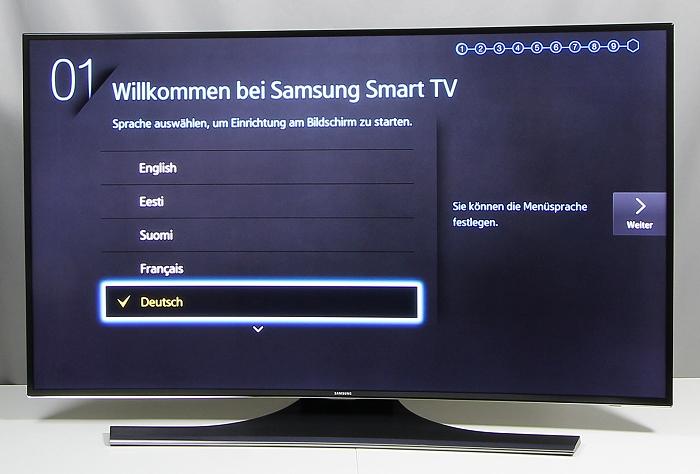 Samsung UE48H6890 Front Seitlich4