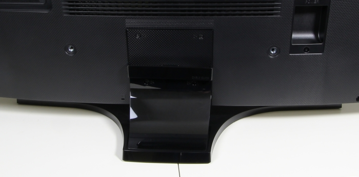 Samsung UE48H6890 Standfuss Rueckseite