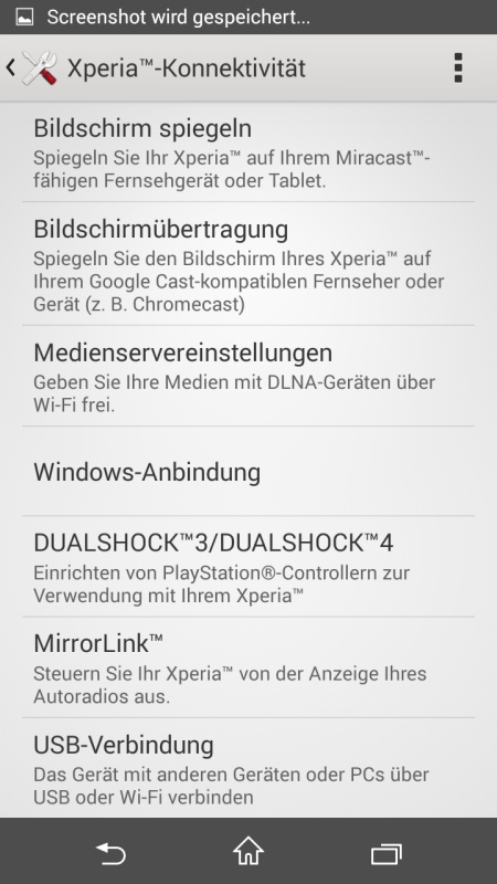 Sony Xperia Z3 Compact Screenshot 21