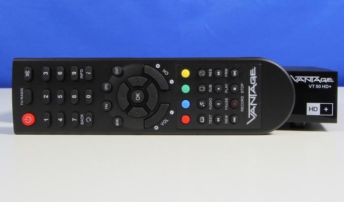 Vantage VT 50 HD+ Fernbedienung