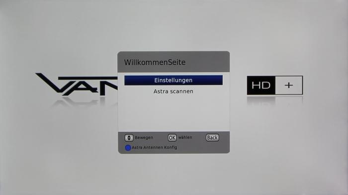 Vantage VT 50 HD+ Screenshot1