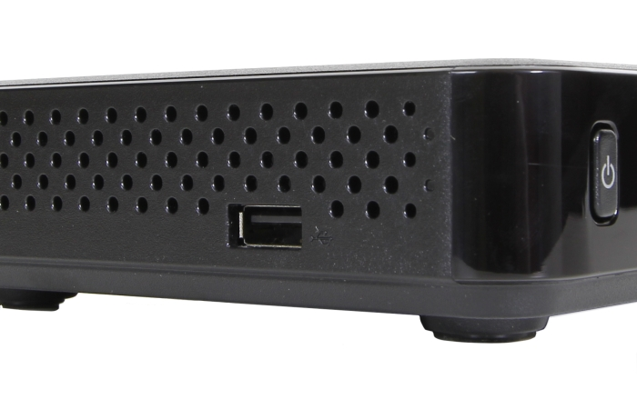 Humax HD NANO Eco USB Anschluss Seitlich