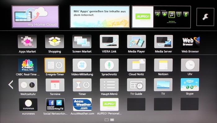 Panasonic TX-P65AXW804 Screenshot 23