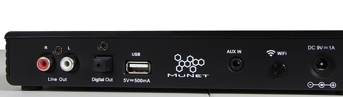 Peaq Munet Link PMN400 Anschluesse Rueckseite