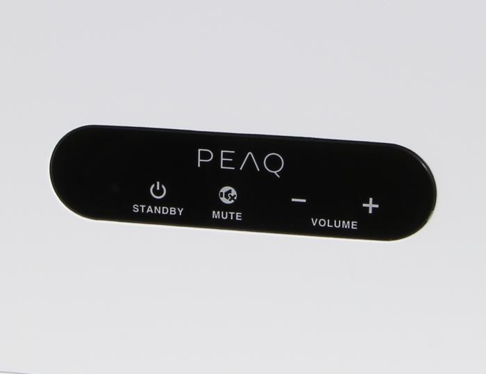 Peaq Munet Pro PMN700 Bedienelemente Oberseite