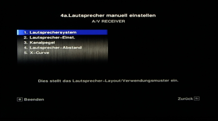 Pioneer SC-LX58 Screenshot14