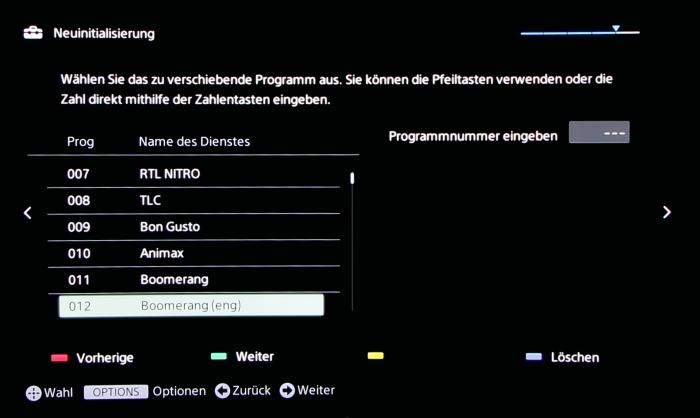 Sony KD65S9005 Screenshot 11