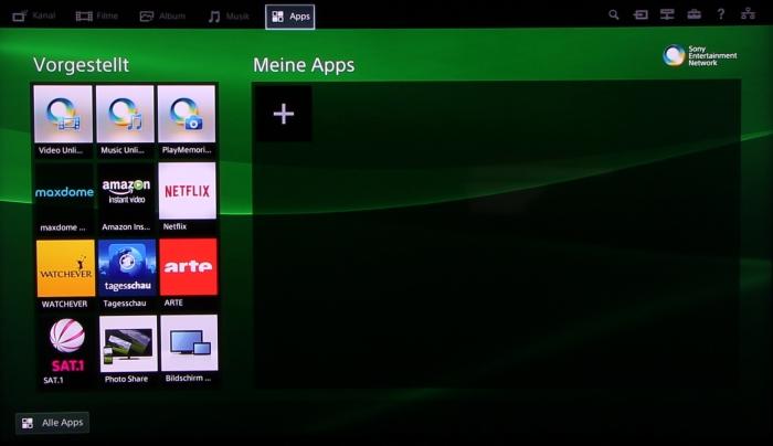 Sony KD65S9005 Screenshot 16