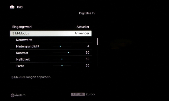 Sony KD65S9005 Screenshot 23