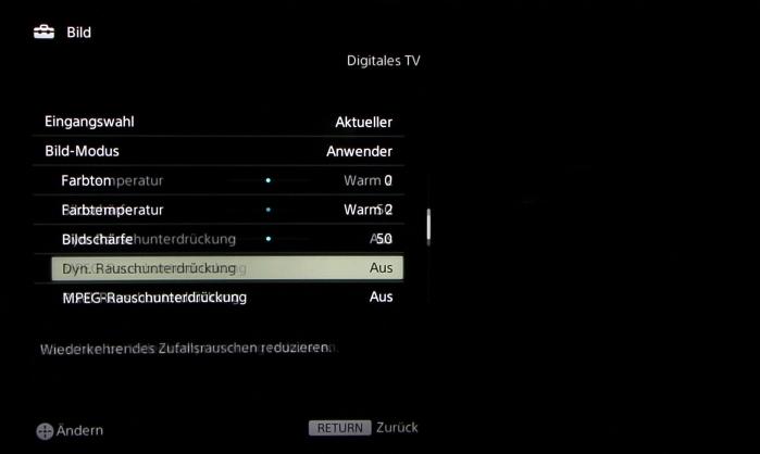 Sony KD65S9005 Screenshot 24