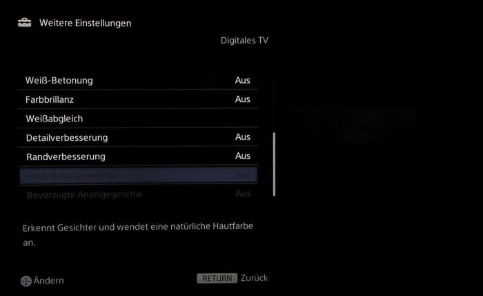Sony KD65S9005 Screenshot 26