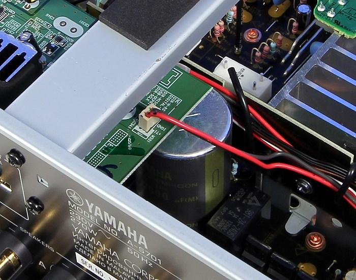 Yamaha A-S701 Innenleben2