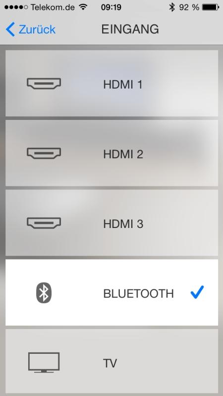 Yamaha HT Controller App 3