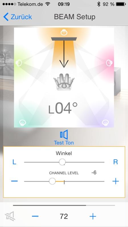 Yamaha HT Controller App 9