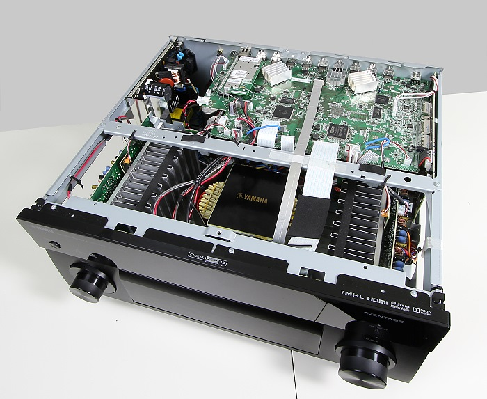 Yamaha RX-A1040 Innenleben Gesamt1