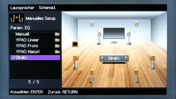 Yamaha RX-A1040 Screenshot 12