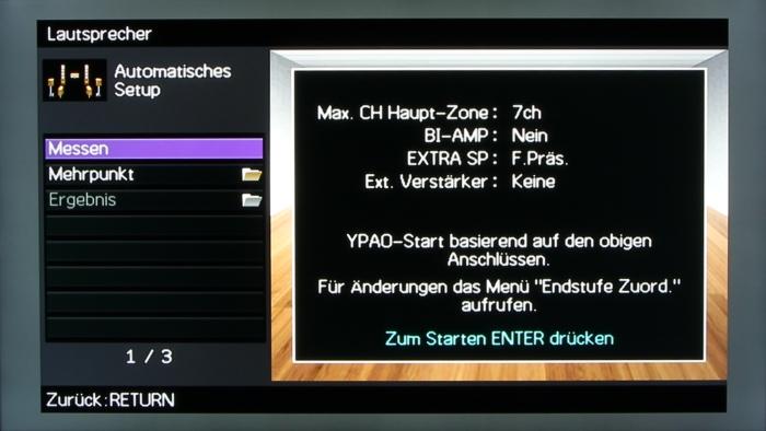 Yamaha RX-A1040 Screenshot 13