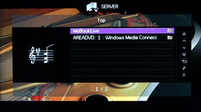 Yamaha RX-A1040 Screenshot 29