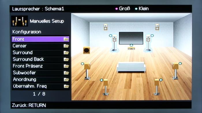 Yamaha RX-A1040 Screenshot 9
