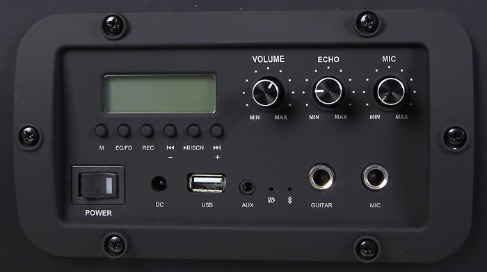 Auna Soundstorm Bedienelemente Display2