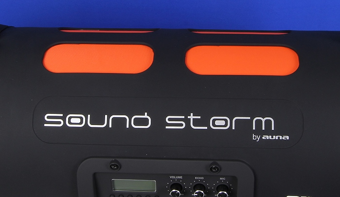 Auna Soundstorm Detail Oberseite