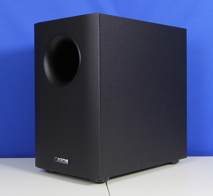 Canton Movie 95 Subwoofer Front Seitlich2