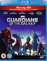 Guardians of the Galaxy UK Blu-ray Disc