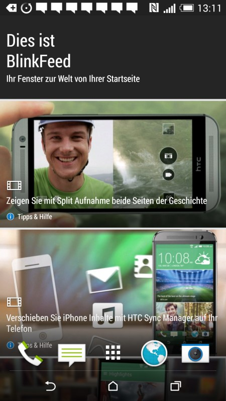 HTC Desire EYE BlinkFeed