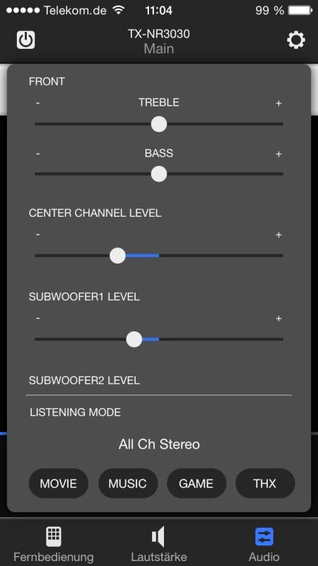 Onkyo Remote 3 App 9