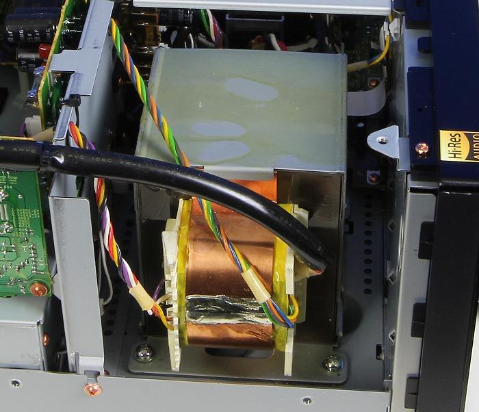 Pioneer SC-LX88 Innenleben2