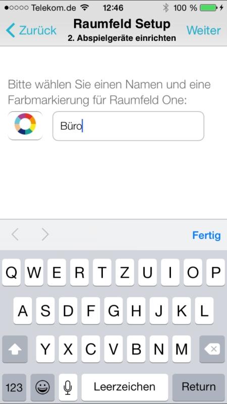 Teufel Raumfeld Controller App 10