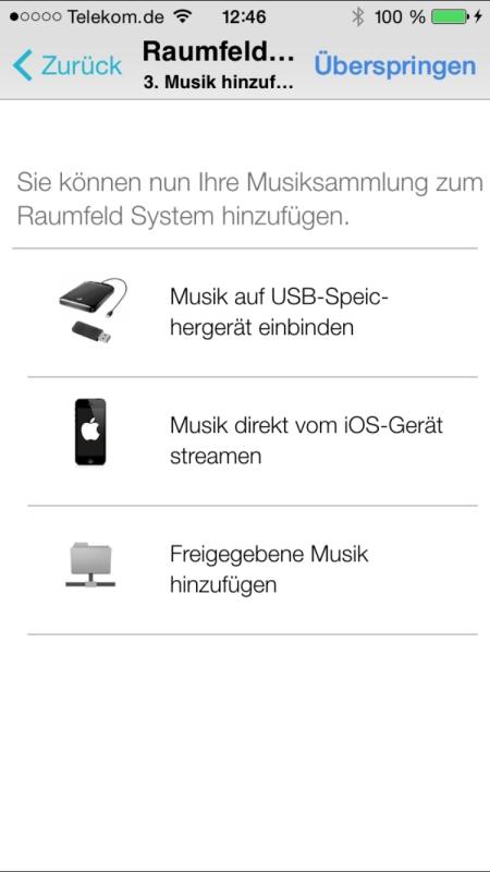 Teufel Raumfeld Controller App 14